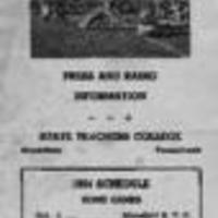 1954 Football Media Guide