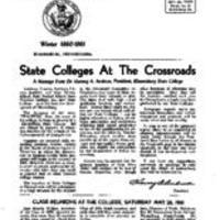 1960-1961 Winter Letter to Graduates
