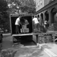 BSC Transporting Books to New On-Campus Library