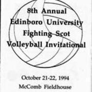 1994, Edinboro Volleyball Invitational