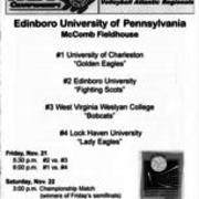 1997, NCAA Division II Volleyball Atlantic Regionals