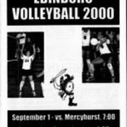 2000, Edinboro Volleyball vs. Merchyhurst & Juniata