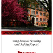 Annual Security and Safety Report, 2015