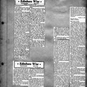 Edinboro Histories