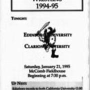 1994-1995, Edinboro Wrestling vs. Clarion