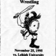 1995, Edinboro Wrestling vs. Leigh University