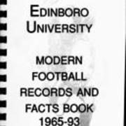 1965-1993, Edinboro Football Records