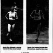 1995, Edinboro Men & Women Cross Country Track Team