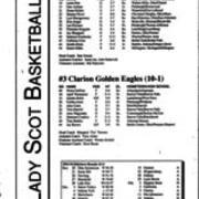 1994-1995, Edinboro Women's Basketball vs. Clarion