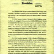 Senate of Pennsylvania, Resolution, 1966
