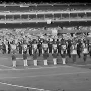 Edinboro State College Band at Three Rivers Stadium, 1980