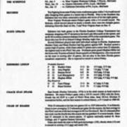 1996-1997, Edinboro Women's Basketball Newsletter