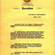 Pennsylvania House of Representatives, Resolution, 1967