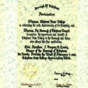 Proclamation, Borough of Edinboro, 1982