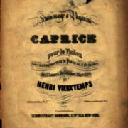 Hommage à Paganini, Caprice pour le violon avec accompagnement de piano ou d'orchestre sur des thèmes du celèbre maestro