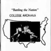1990-1991, Edinboro Wrestling Guide