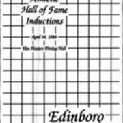 1988, Edinboro University Seventh Annual Athletic Hall of Fame Inductions