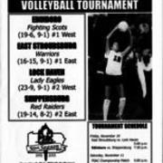 2000, PSAC Volleyball Tournament