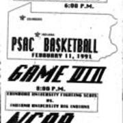 1991, PSAC Basketball Game VIII  - Edinboro vs. IUP