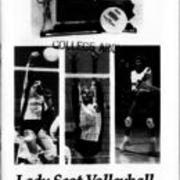 1990, Edinboro Women's Volleyball Guide