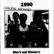 1990, Edinboro men & Women Cross Country Track Team