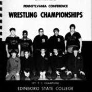 1971, Pennsylvania Conference Wrestling Championship
