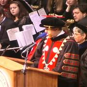 Inauguration of Jeremy Brown as President, 2007