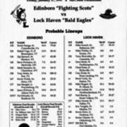 1997, Edinboro Wrestling vs. Lock Haven