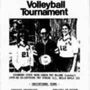 1979, Edinboro Women's Volleyball Tournament