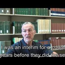 Williams, Bill Interview Video Clip