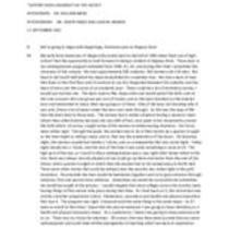 Meise, William Interview Transcript