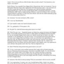 Watson, Emily Interview Transcript